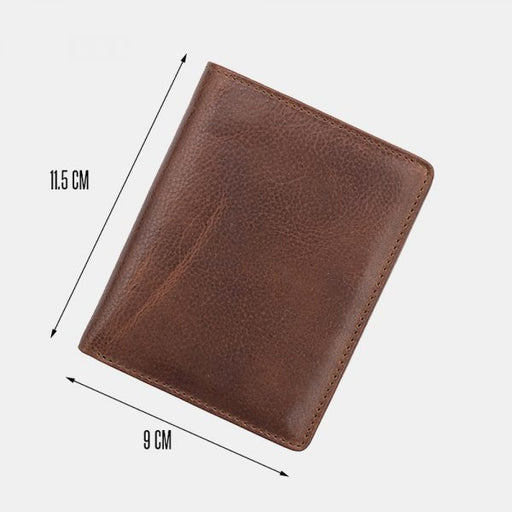 New York RFID Brown Wallet Kara 03-Prime Hide-Maxwell Hamilton