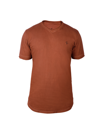 Men's Cutch Brown Tee