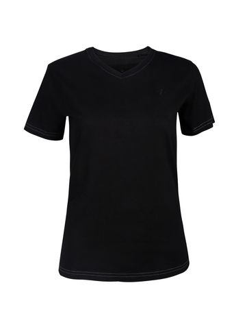 Women's Iron Black Tee