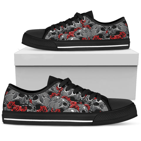 Skulls Razor Low Top Shoes - OnlineGearz