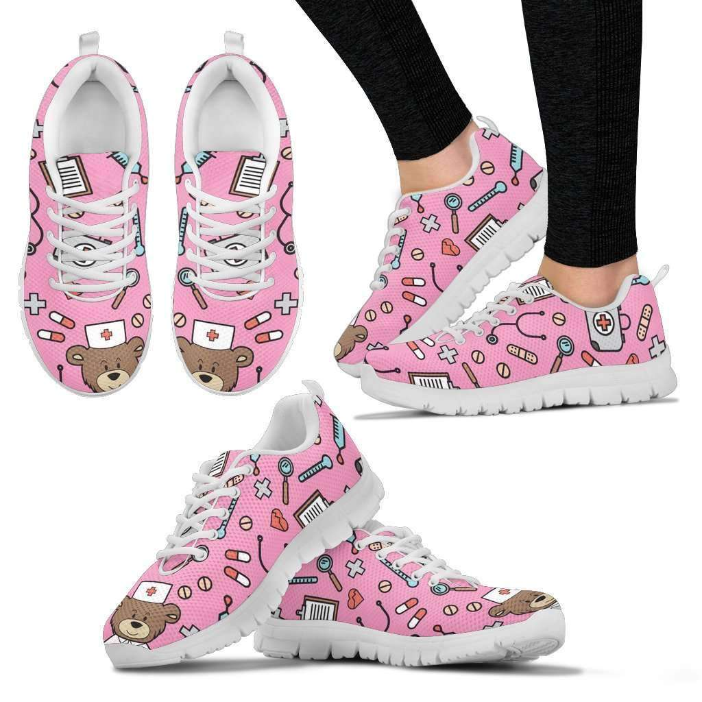 Comfy Nursy Bear Sneakers Women - OnlineGearz