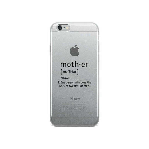 iPhone What Mother Means Case - OnlineGearz