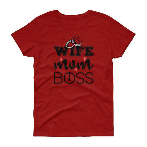 Wife is Boss t-shirt - OnlineGearz