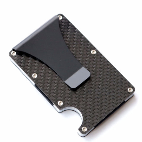 Minimalist Authentic Carbon Fiber Wallet - OnlineGearz