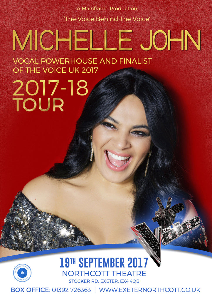 Michelle John - The Voice Behind the Voice Tour - Northcott Theatre
