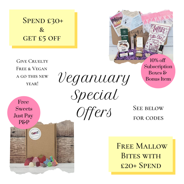 The Cruelty Free Beauty Box Veganuary Offers