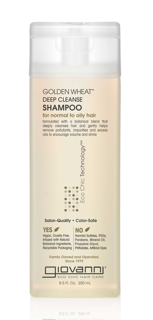 Giovanni-Golden Wheat Deep Cleanse Shampoo - The Cruelty Free Beauty Box