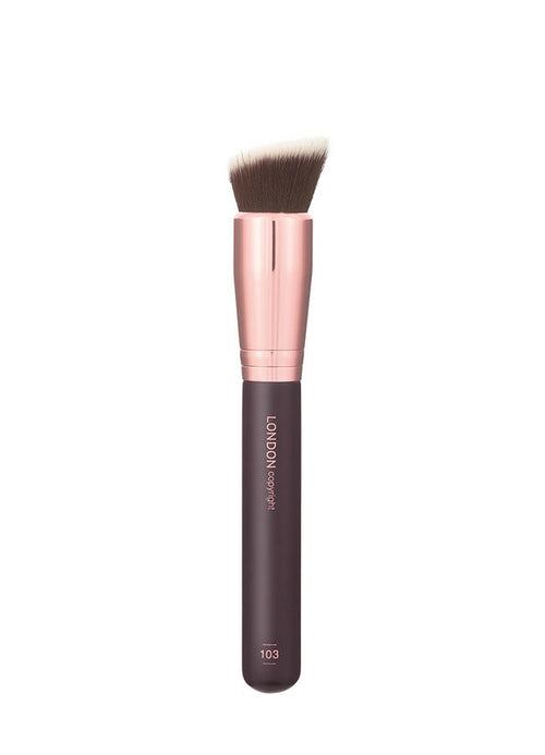 London Copyright-Angled Buffer Brush - The Cruelty Free Beauty Box