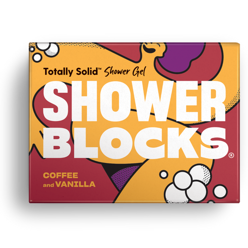 Shower Blocks-Solid Shower Gel | Coffee & Vanilla | Cruelty Free, Vegan & Plastic Free