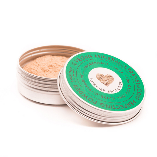 Love The Planet-Refillable Translucent Pefecting Powder | Plastic Free & Vegan