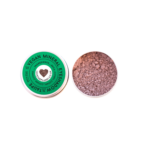 Love The Planet-Refillable Mineral Eyeshadow | Taupe