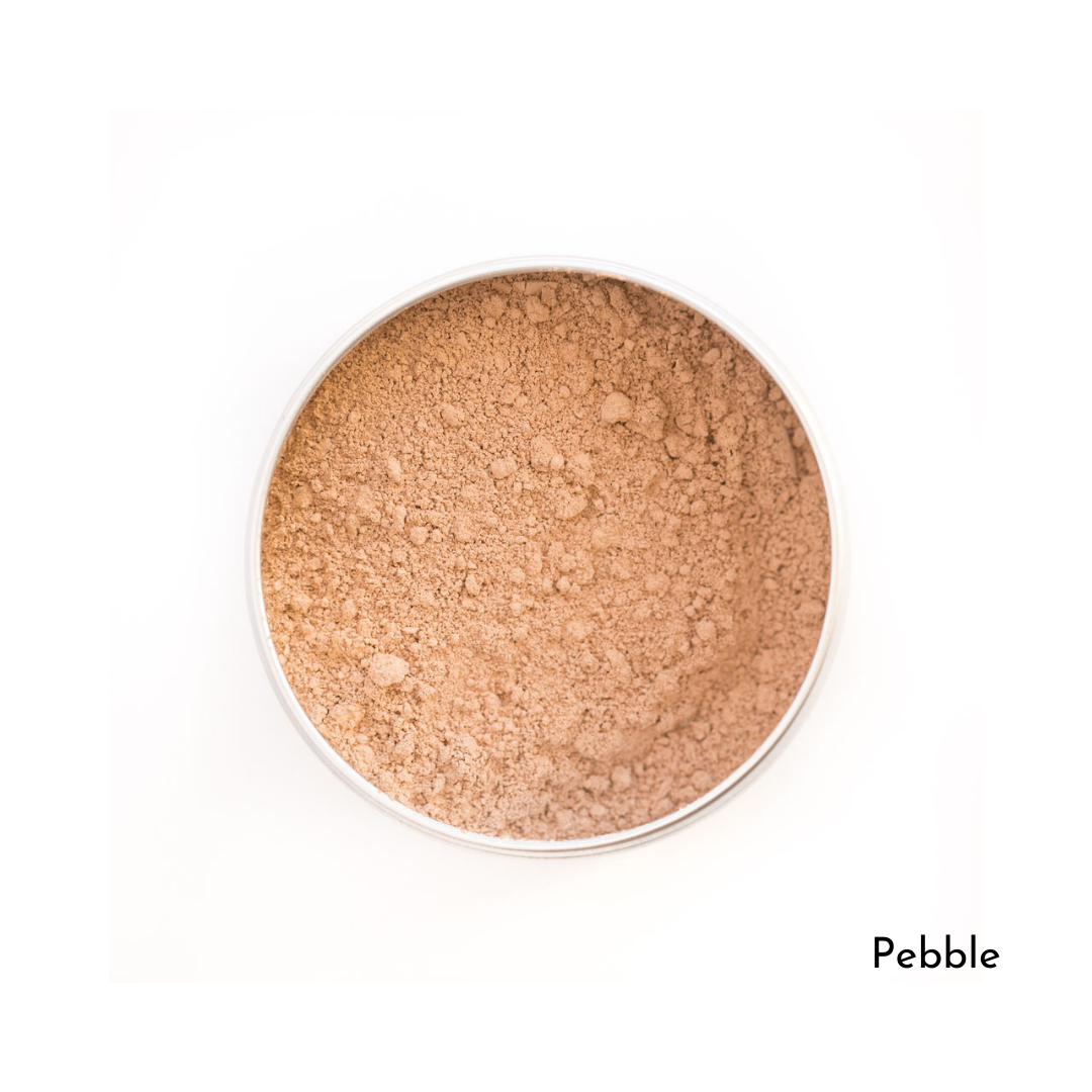 Love The Planet-Refillable Mineral Foundation | Pebble
