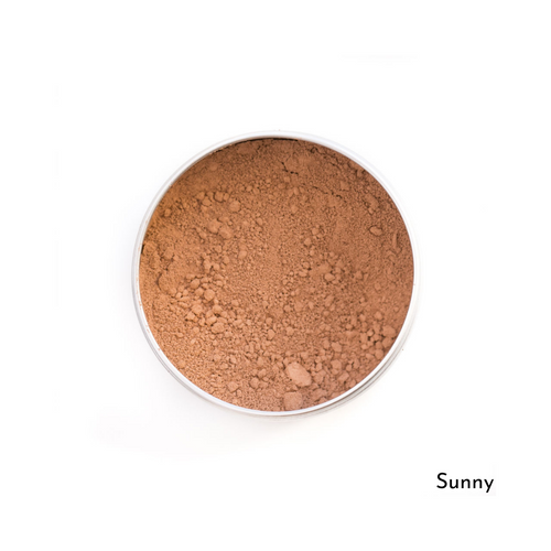 Love The Planet-Refillable Mineral Foundation | Sunny