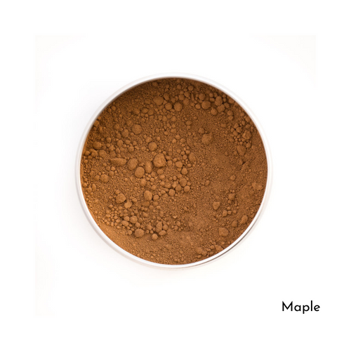 Love The Planet-Refillable Mineral Foundation | Maple