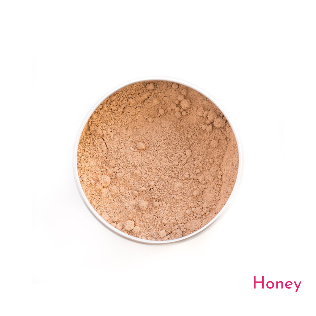 Love The Planet-Mineral Foundation Sample | Honey