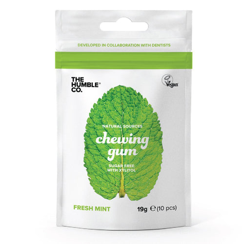 The Humble Co-Natural Chewing Gum | Fresh Mint | Vegan