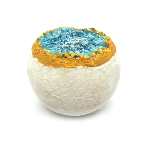 Ascent-Essential Oil Geode Bath Bomb | Be Happy