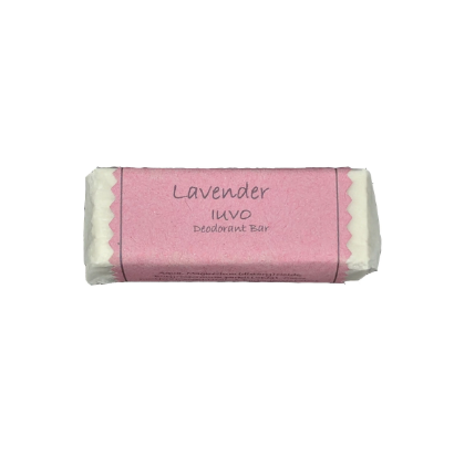 Iuvo-Antiperspirant Deodorant Bar | Lavender - The Cruelty Free Beauty Box