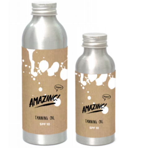 Amazinc!-Tanning Oil SPF10 | Travel Size