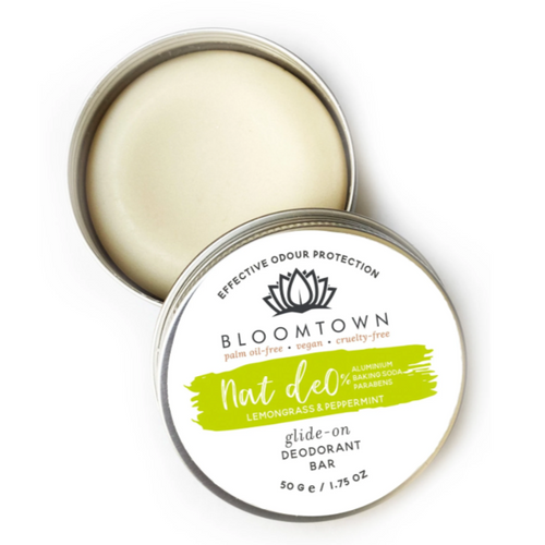 Bloomtown-Natural Deodorant Bar | Lemongrass & Peppermint