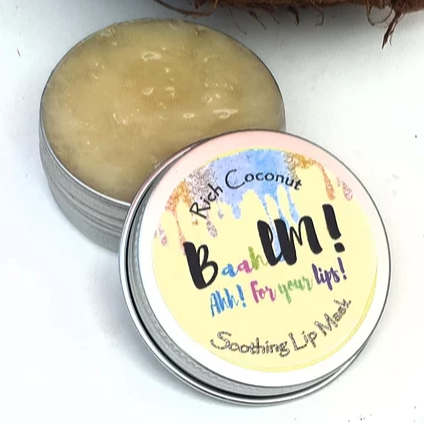 Baahlm-Lip Mask | Rich Coconut
