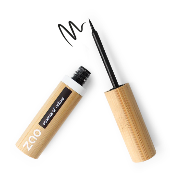 ZAO-Refillable Felt Tip Eyeliner | Intense Black