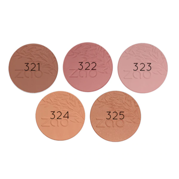 ZAO-Refillable Compact Blush | 6 Colours