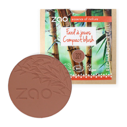 ZAO-Compact Blush REFILL | 6 Colours