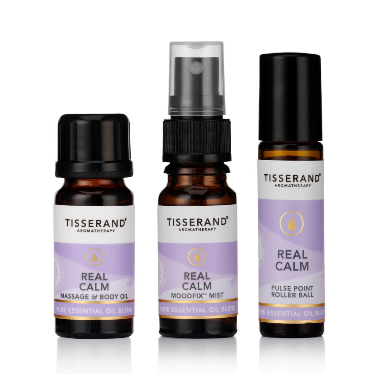 Tisserand Aromatherapy-Real Calm Discovery Kit | Cruelty Free & Vegan Mindfulness