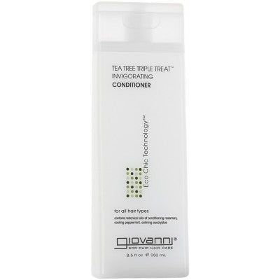 Giovanni-Tea Tree Triple Treat Conditioner - The Cruelty Free Beauty Box