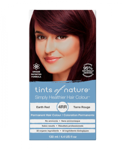 Tints of Nature-Permanent Hair Dye | 4RR Earth Red