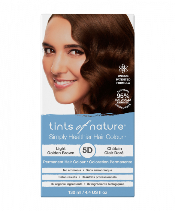Tints of Nature-Permanent Hair Dye | 5D Light Golden Brown