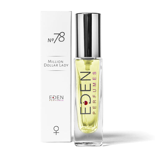 Eden Perfumes-Eau De Parfum No.78 | 'Lady Million' - The Cruelty Free Beauty Box