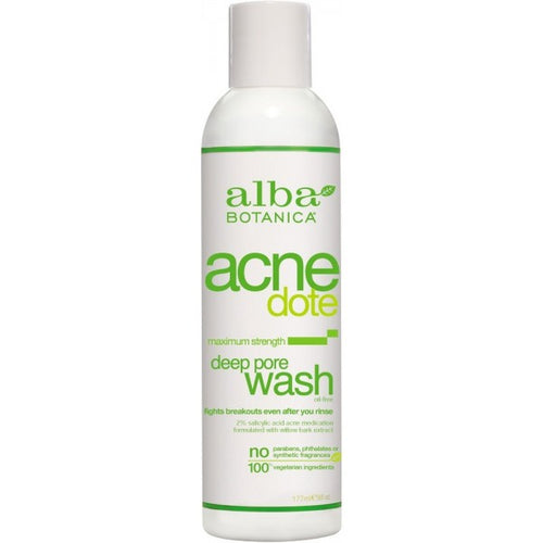Alba Botanica-Acne Deep Pore Wash - The Cruelty Free Beauty Box