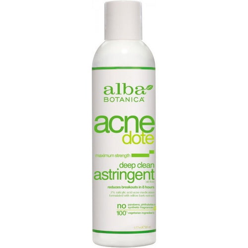 Alba Botanica-Acne Deep Clean Astringent - The Cruelty Free Beauty Box