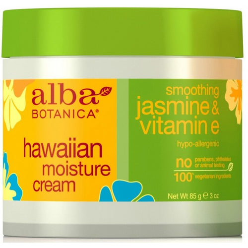 Alba Botanica-Jasmine & Vitamin E Moisture Cream - The Cruelty Free Beauty Box
