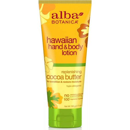 Alba Botanica-Cocoa Butter Hand & Body Lotion - The Cruelty Free Beauty Box