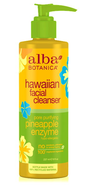 Alba Botanica-Hawaiian Pore Purifying Pineapple Enzyme Facial Cleanser - The Cruelty Free Beauty Box