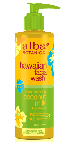 Alba Botanica-Hawaiian Deep Cleansing Coconut Milk Facial Wash - The Cruelty Free Beauty Box