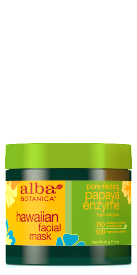 Alba Botanica-Hawaiian Pore-perfecting Papaya Enzyme Facial Mask - The Cruelty Free Beauty Box