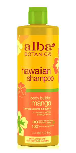 Alba Botanica-Hawaiian Body Builder Mango Shampoo - The Cruelty Free Beauty Box