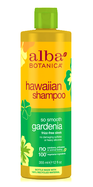 Alba Botanica-Hawaiian So Smooth Gardenia Shampoo - The Cruelty Free Beauty Box