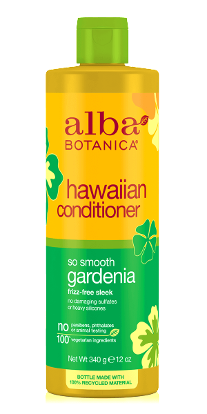 Alba Botanica-Hawaiian So Smooth Gardenia Conditioner - The Cruelty Free Beauty Box