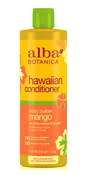 Alba Botanica-Hawaiian Body Builder Mango Conditioner - The Cruelty Free Beauty Box
