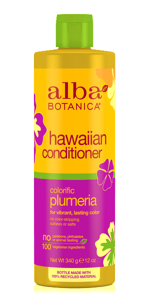Alba Botanica-Hawaiian Colorific Plumeria Conditioner - The Cruelty Free Beauty Box