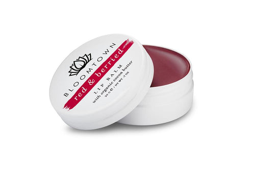 Bloomtown-Lip Balm 'Red & Berried' - The Cruelty Free Beauty Box