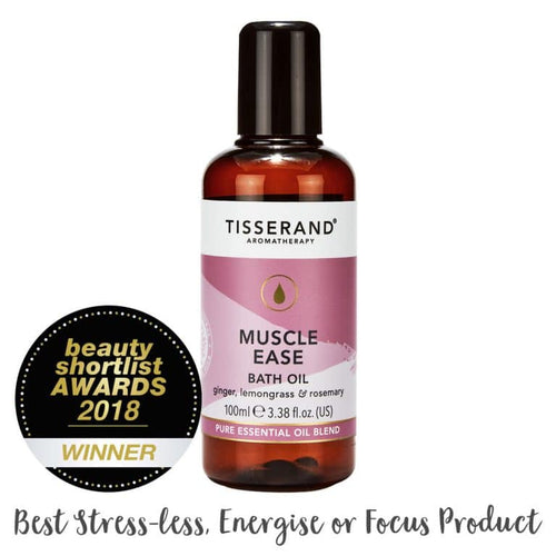 Tisserand Aromatherapy-Muscle Ease Bath Oil - The Cruelty Free Beauty Box