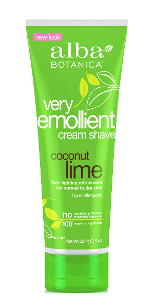 Alba Botanica-Very Emollient Cream Shave | Coconut Lime - The Cruelty Free Beauty Box