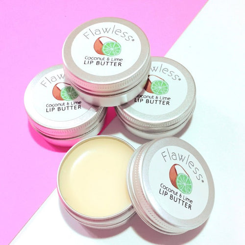 Flawless-Coconut & Lime Lip Butter