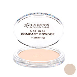Benecos-Compact Powder 'Porcelain' 9g - The Cruelty Free Beauty Box
